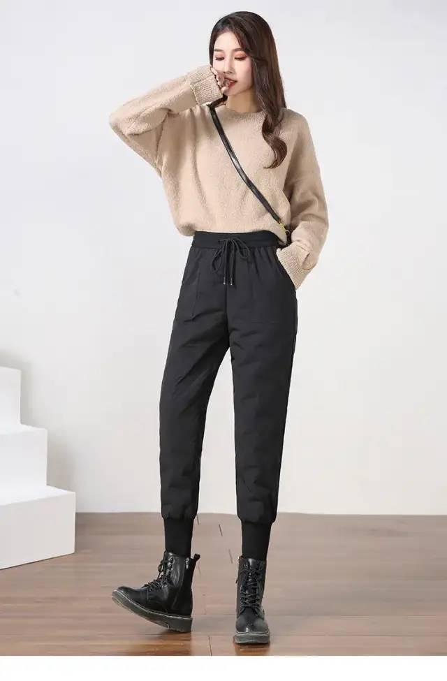 瑜伽精选 | 时尚圈都在穿羽绒裤,保暖不臃肿,-20℃都不怕!_鸭绒