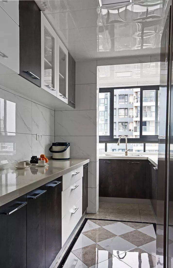 118平现代简约三居室,大理石做电视背景墙,简单的才是适合老百姓的!