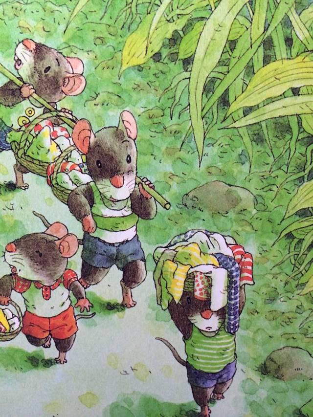 有声绘本:14只老鼠洗衣服  第4张