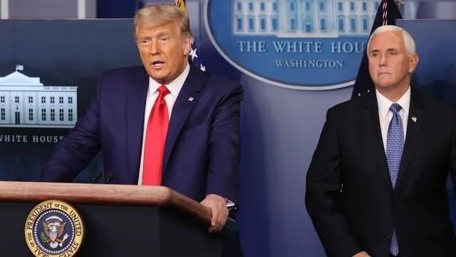美媒:特朗普彭斯自美国会骚乱后首见面,反思政府四年工作