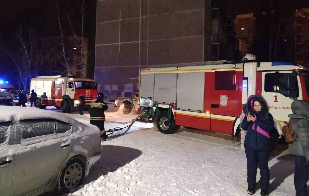俄罗斯叶卡捷琳堡市一居民楼发生火灾 已致8人死亡