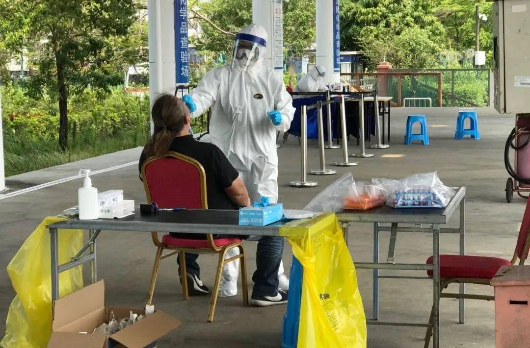 深圳新增一名境外输入无症状感染者,为港籍货车司机