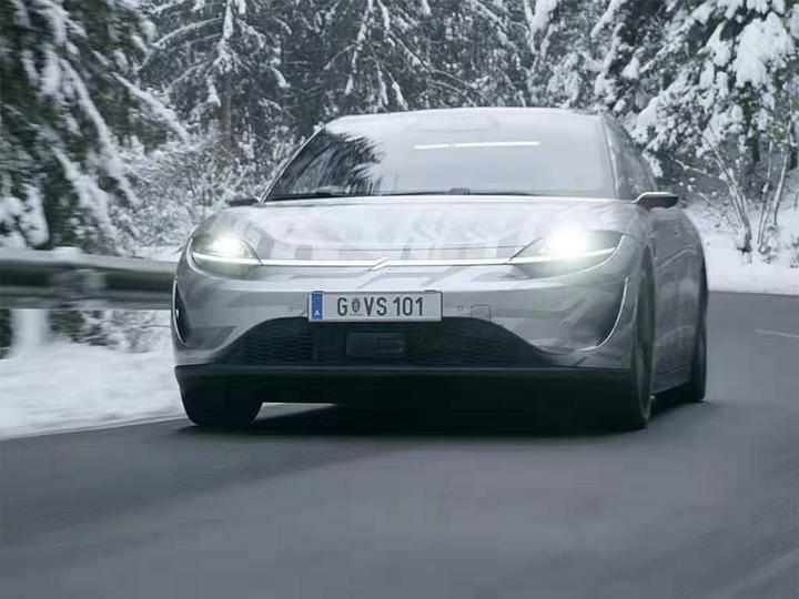索尼VISION-S原型机于2021年发布,目前正在奥地利进行路试