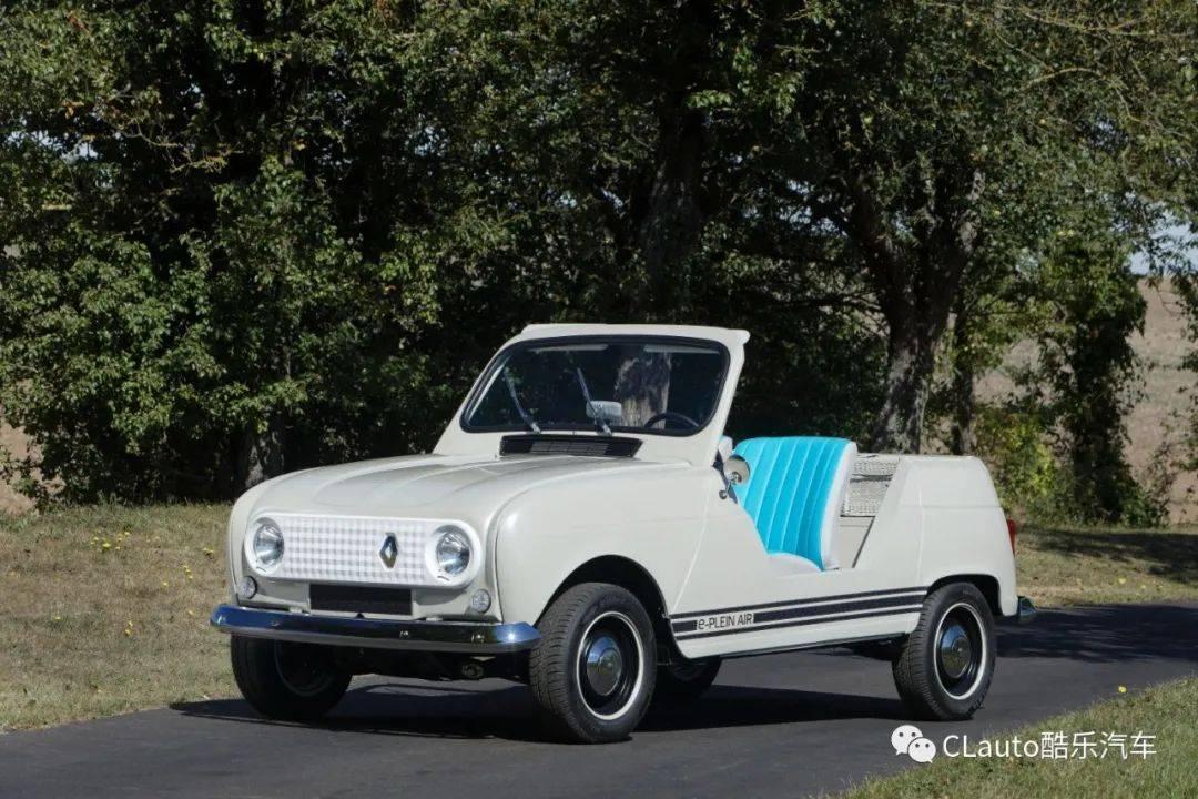 雷诺复活了畅销50年的汽车,用纯电化学复制的方式生产出来|库勒汽车