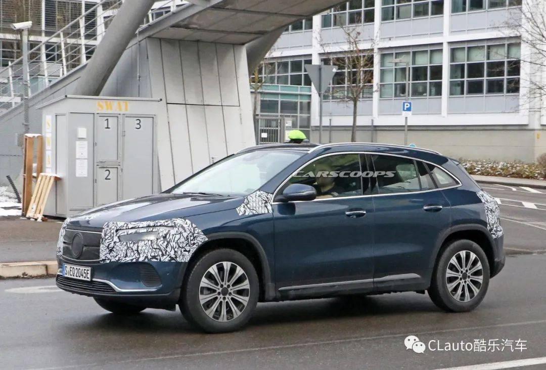 奔驰EQA纯电续航400公里,预计年内上市   酷乐汽车_车型