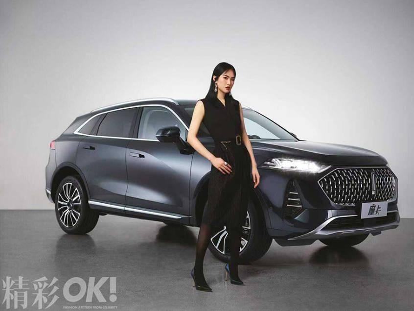 华为公主姚安娜出道,给了它WEY品牌全新旗舰SUV摩卡发布