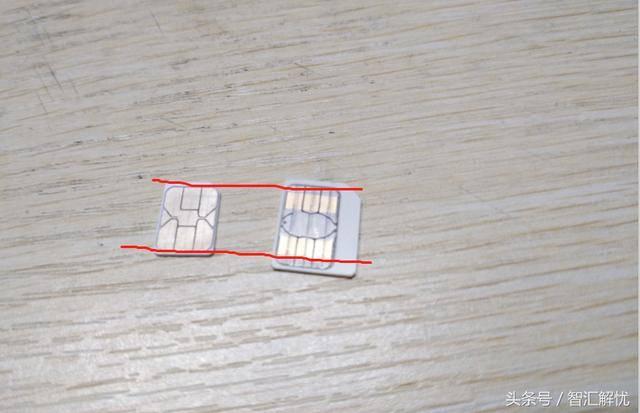 没有剪卡器怎么剪小卡(大sim卡剪nano小卡图解)