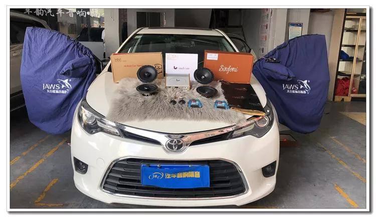 汕头丰田卡罗拉汽车音响改装升级,尽善尽美的第一台车