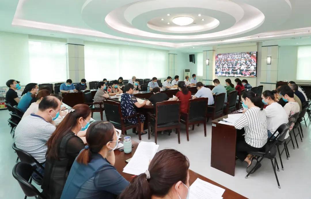 郑州大学第三附属医院举行党委理论学习中心组(扩大)学习会议
