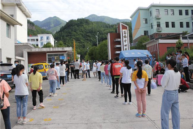 兴山县高桥乡八年级学生顺利返校复课