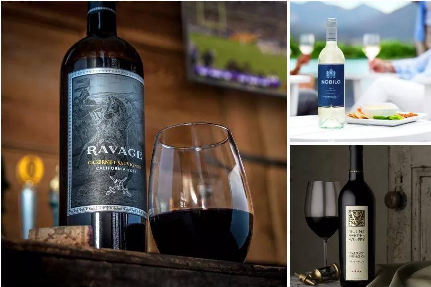 星座集团官网展示的葡萄酒品牌