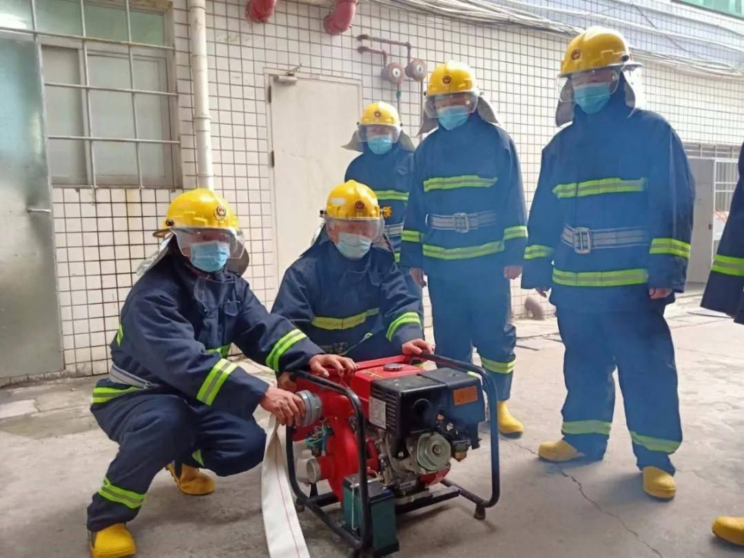 涵江医院微型消防站有群当兵的人