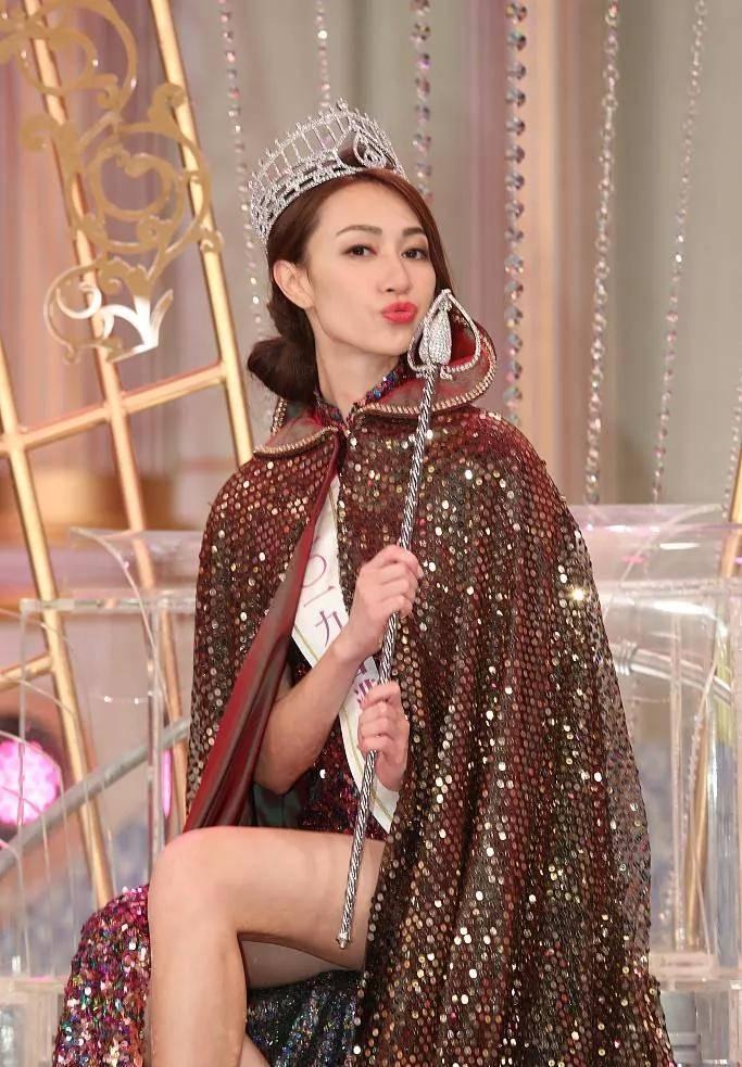 香港小姐风光了那么久 终于还是要糊了