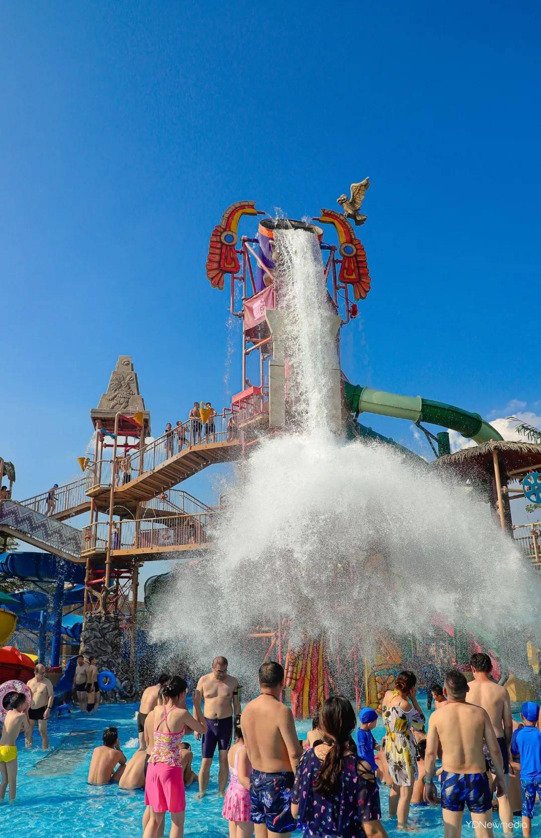 武汉玛雅海滩水公园攻略 这里有关于夏天的一切美好想象