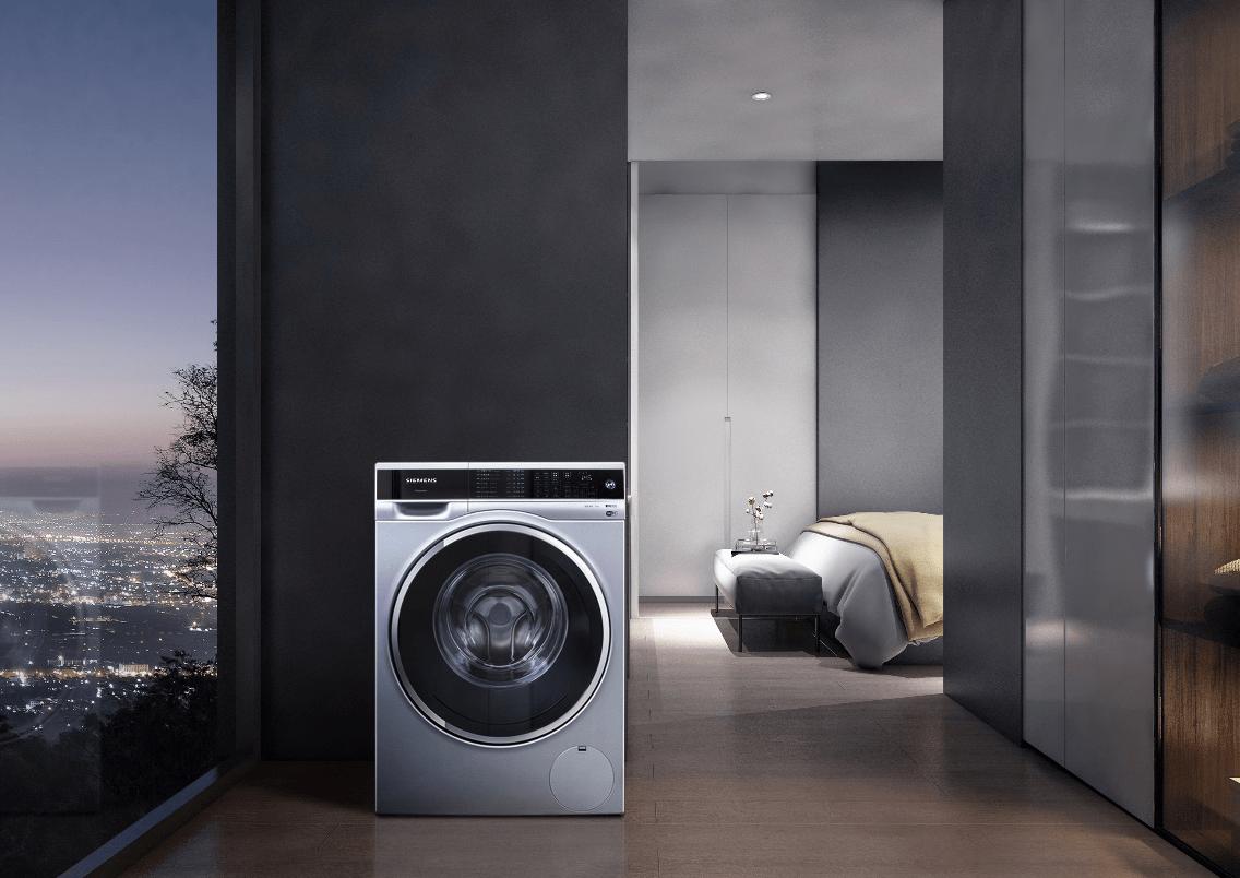 创新洗涤黑科技,西门子超氧洗衣机成就品质生活!