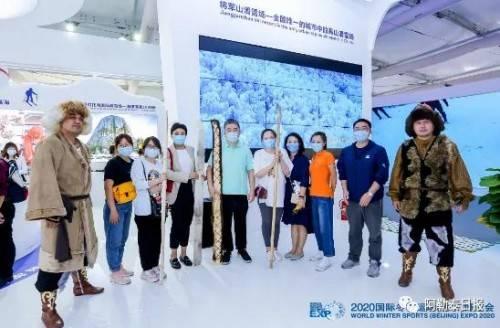 阿勒泰冰雪旅游助力2020国际冬季运动(北京) 博览会