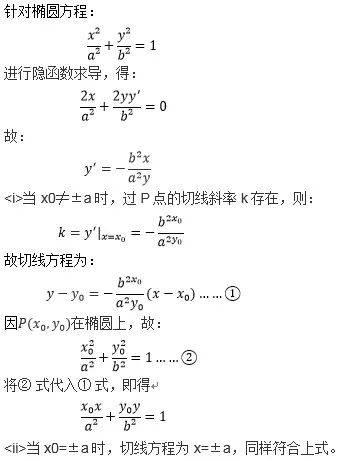 椭圆通径公式推导(高中椭圆九个结论定理)