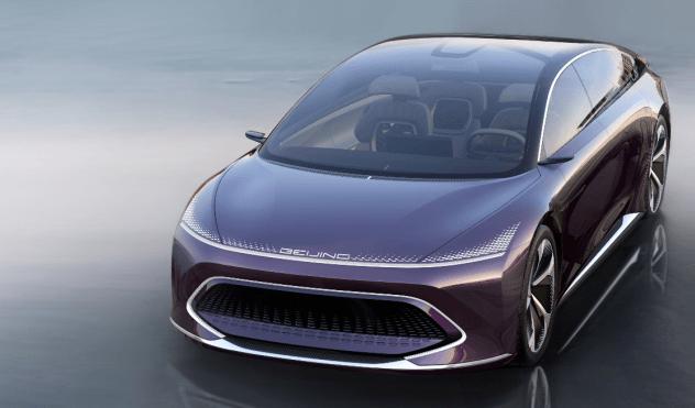 SSC设计-续航可达800公里 BEIJING RADIANCE概念车亮相