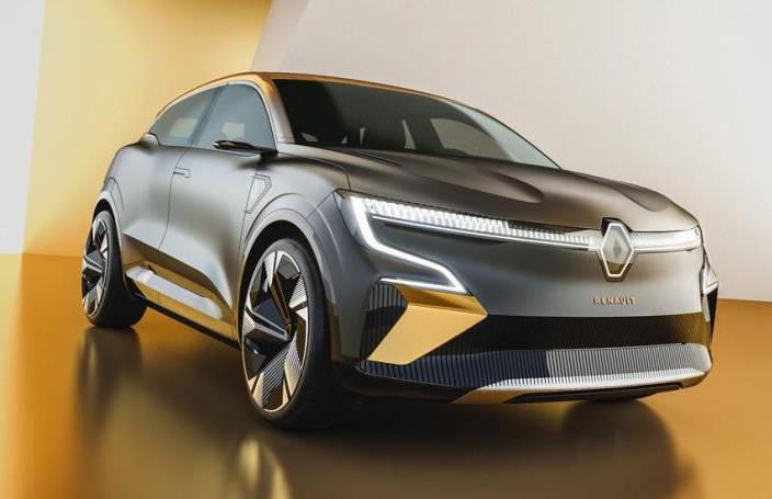 IG娱乐-2021年底量产 雷诺新EV概念车官图发布