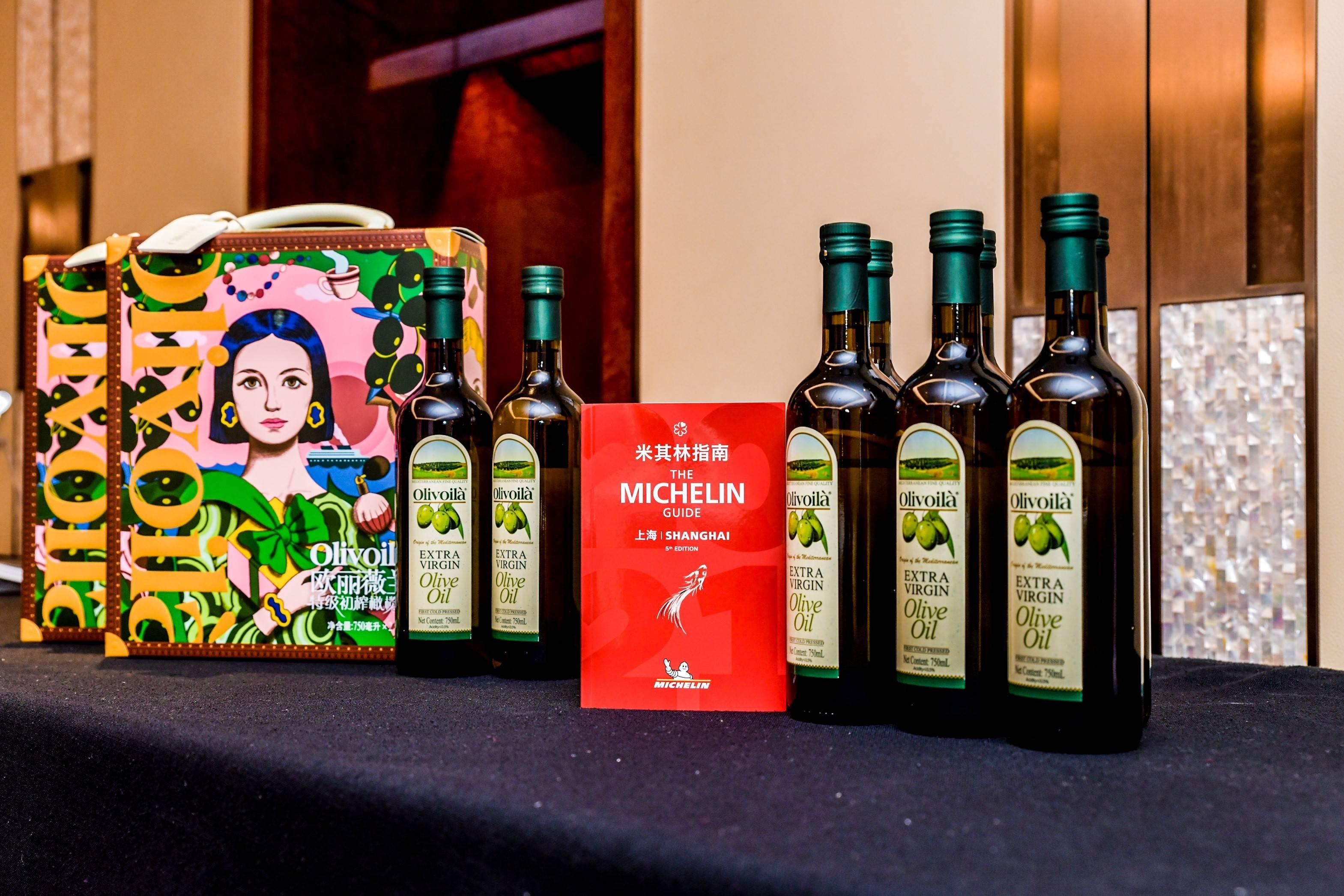 共飨星级美味,米其林指南官方合作伙伴欧丽薇兰橄榄油见证上海餐厅摘星