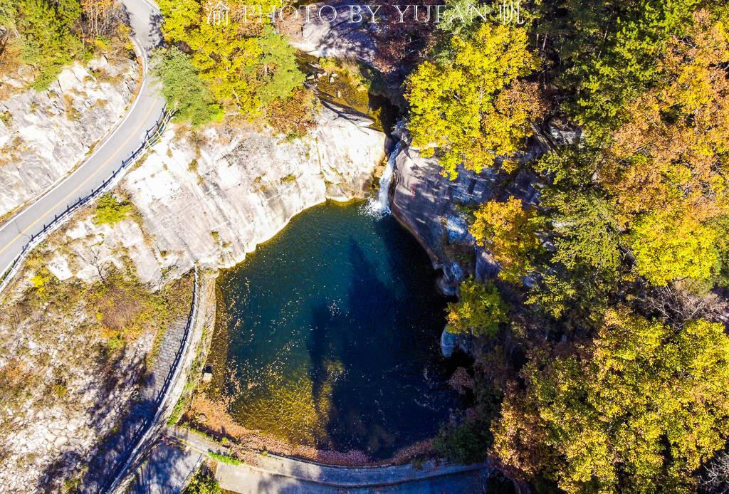河南的九寨沟,洛阳的白云山,有山有水有诗意,已迎来最美的秋色