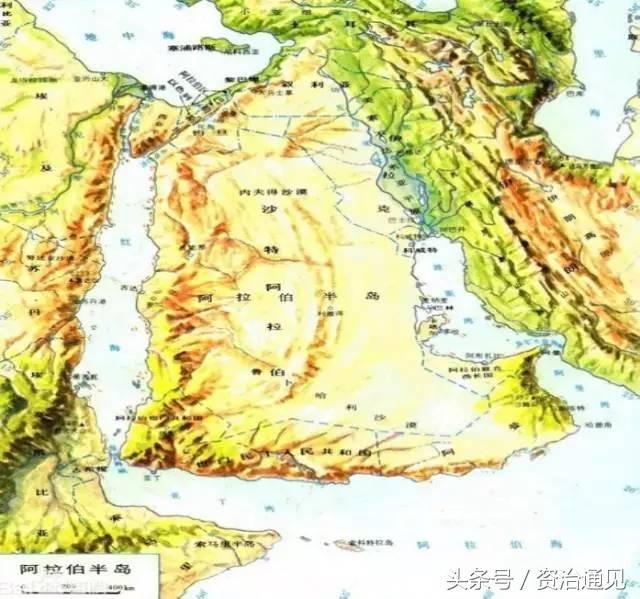 阿拉伯半岛属于哪个板块(阿拉伯属于亚洲的哪个地区)