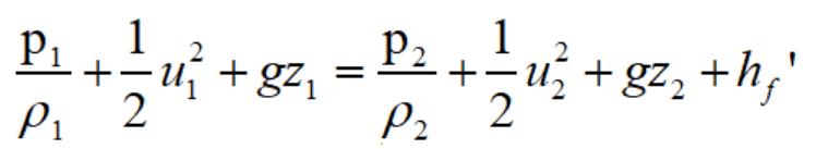 流体力学伯努利方程(流体静力学的伯努利公式)