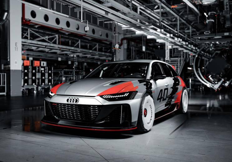 复古碰撞前卫 奥迪发布RS 6 GTO概念车-XI全网