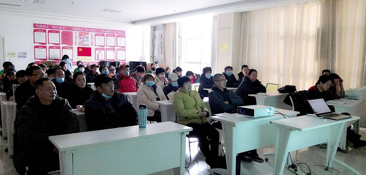 青海省西宁市城北区幸福社区举办《现代诗歌的魅力》夏都市民大讲堂活动