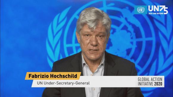 """联合国、IMF等国际组织参与中央广播电视总台组织的""""全球行动倡议"""