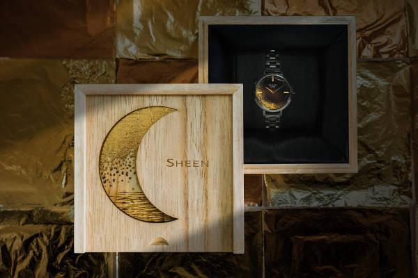 金箔之耀,莳绘之雅 卡西欧SHEEN推出莳绘限量版腕表