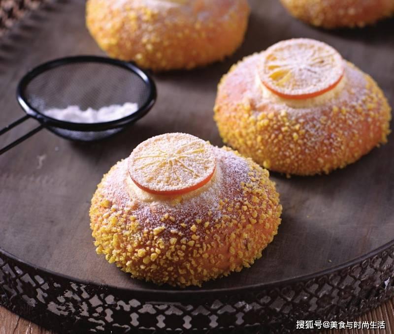 吃剩的橙子皮千万别丢,加点面粉做面包,橙香浓郁,松软可口