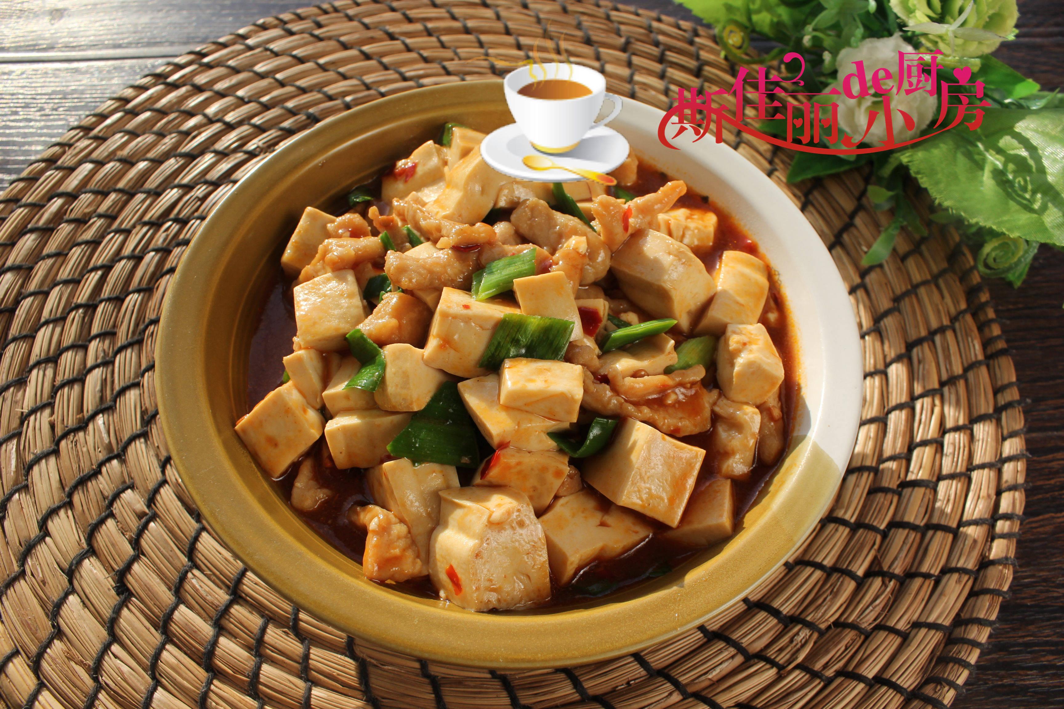 天冷来上这一锅热乎乎的烧豆腐,荤素一锅出,营养美味又暖身暖胃