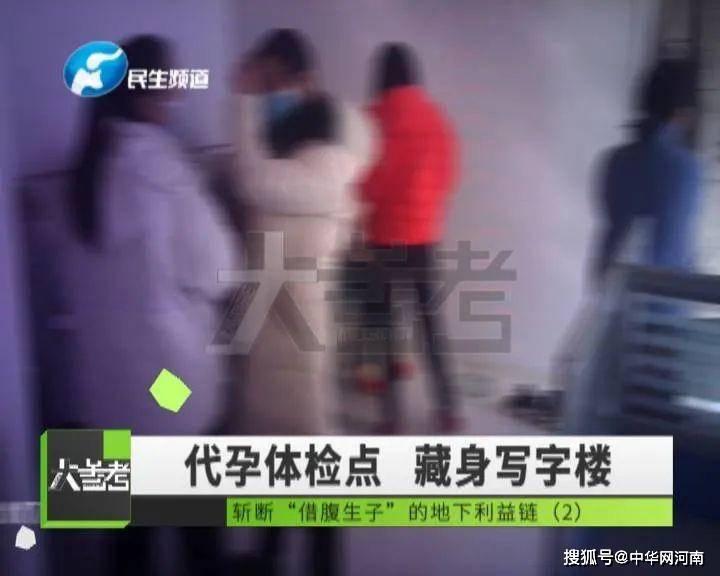 郑州女记者卧底调查 揭秘地下代孕黑色利益链