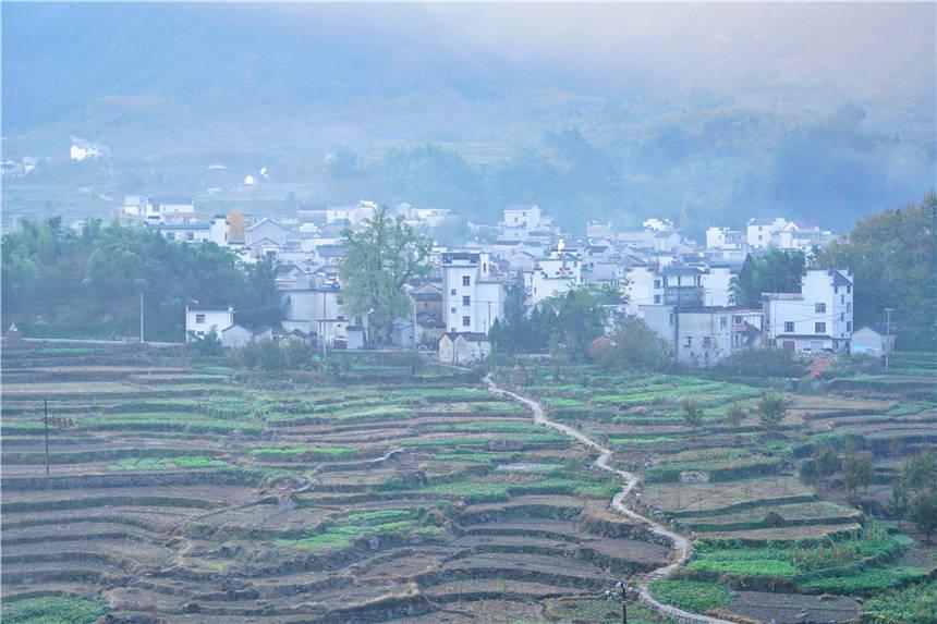 安徽这个自驾路线太美了,一路上有梯田云海古村落,被誉为小黄山