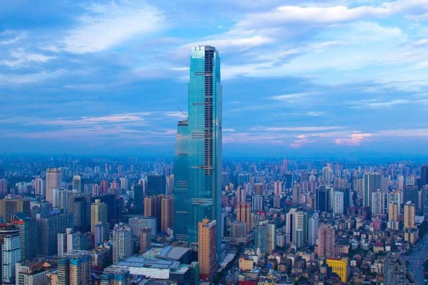 """长沙又添一热门地标,高452米,耗资179亿,被称""""湖南第一高楼"""""""