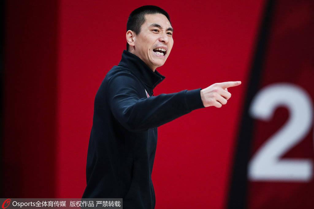 朱世龙:满意球员场上表现 年轻球员可以犯错但要有进步