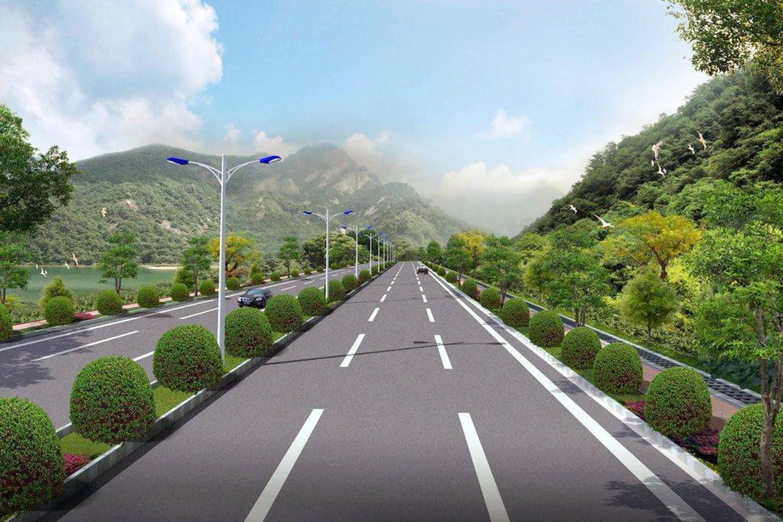 湖南两县之间在建一条高速,全长约45.5千米,概算投资53.06亿元