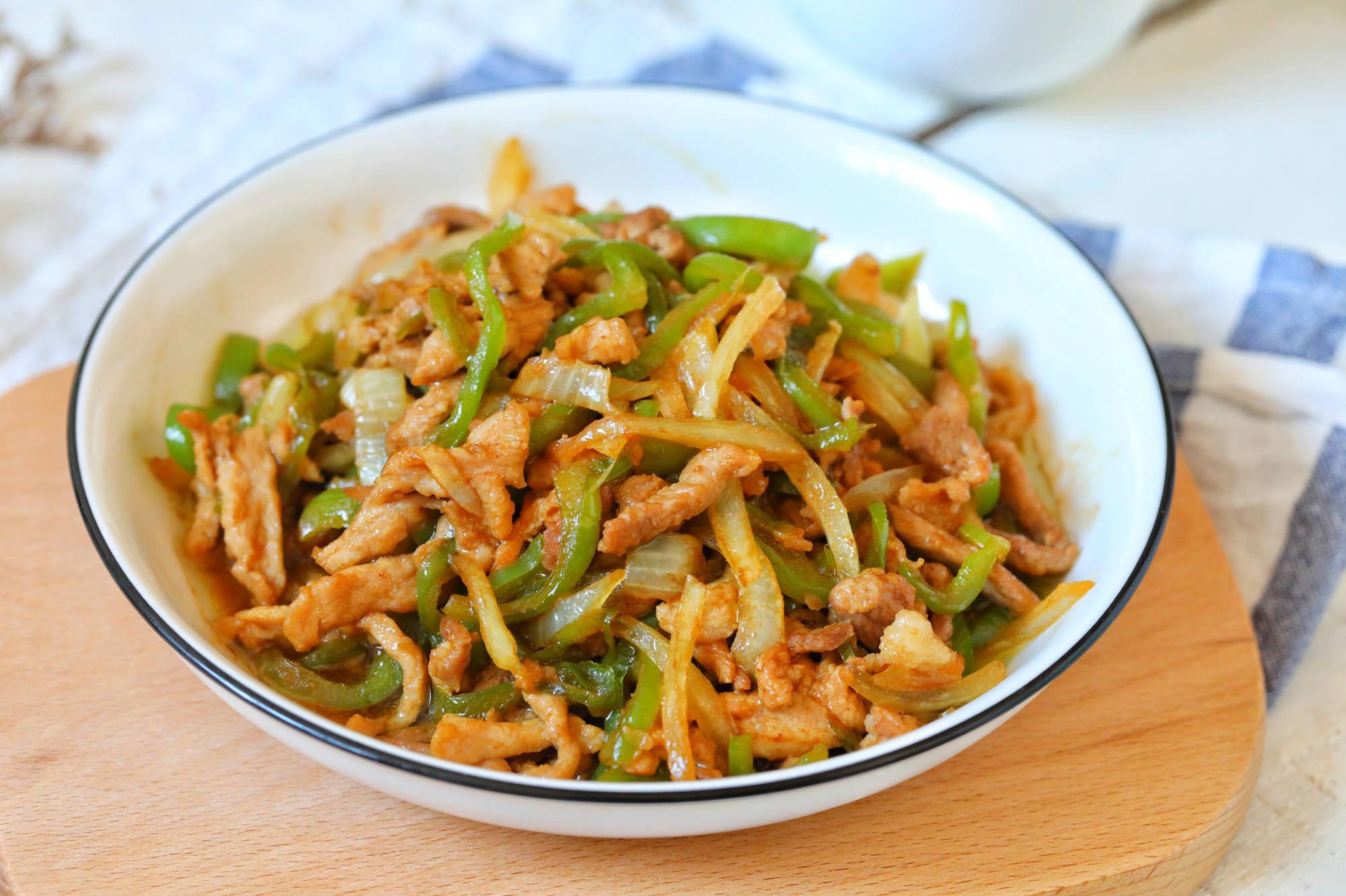 猪肉怎样炒又滑又嫩,只因加了它,不柴不硬特别香,配上米饭绝了