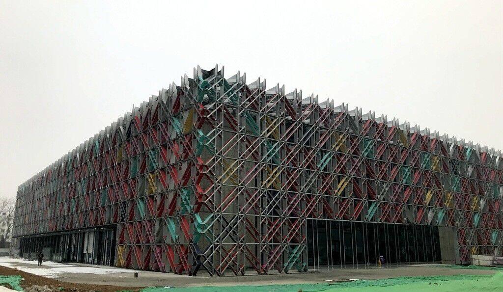 冬奥冰球训练馆五棵松冰上运动中心通过制冰验收