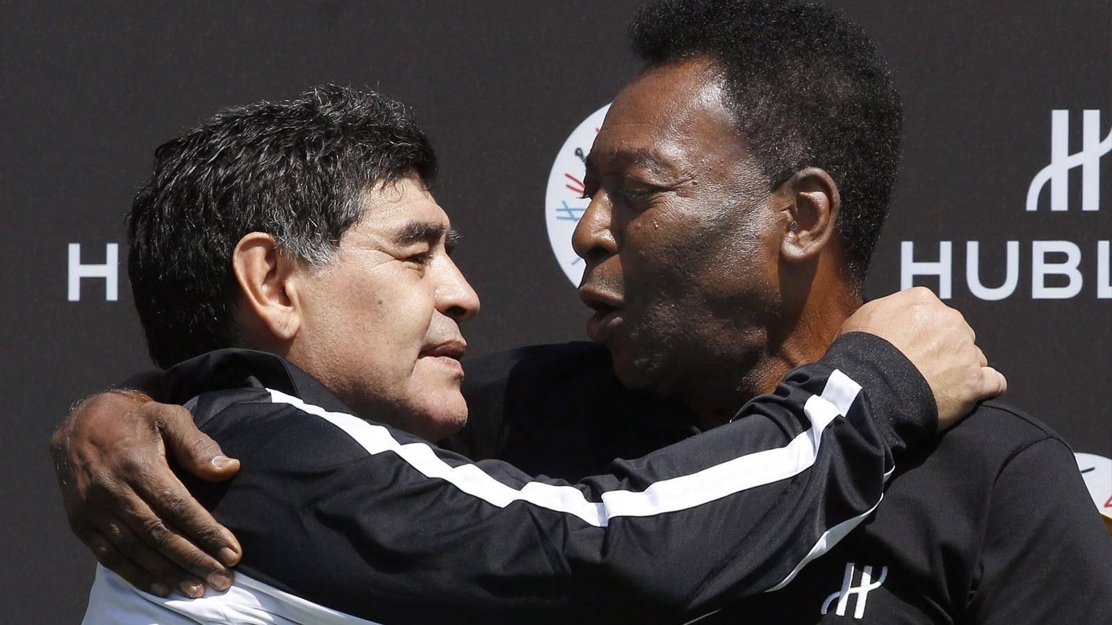 贝利资助马拉多纳生前执教的球队,罗纳尔多称萨维利亚了解梅西
