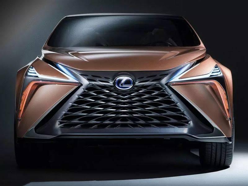 雷克萨斯全新旗舰SUV曝光 定位高于LX 对标奔驰GLS