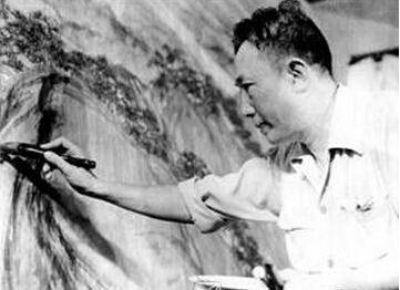 高德平台代理开户两位画家创作江山如此多娇水墨画,他们辛苦工作,克服了这些困难