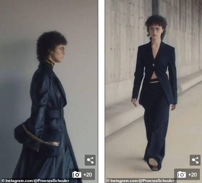 原创             戴呆瓜眼镜、卷卷发,她怎么就成了这届纽约时装周最受瞩目的模特