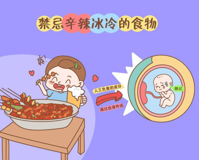"""宝宝出生自带""""胎记""""?可能与孕期四种行为有关,孕妈要尽量避开"""