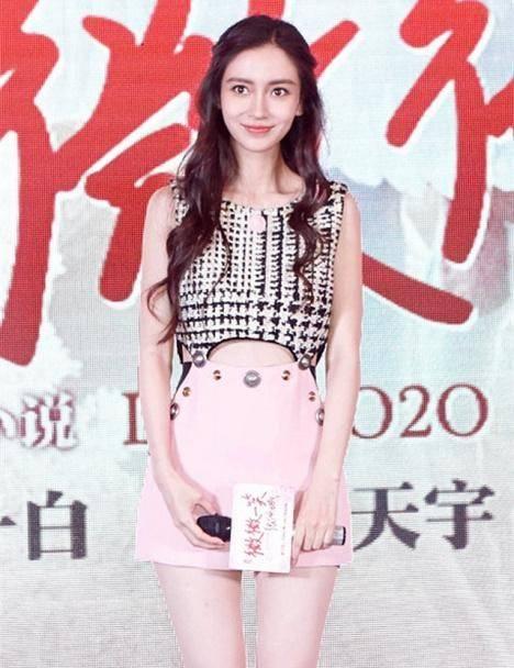 """原创             杨颖才是真的""""素颜女神""""!不化妆好清纯,复古元素也穿出少女感"""