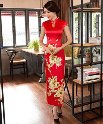 心理测试:四套旗袍,你最喜欢哪套?测你命中注定是啥命?  第2张