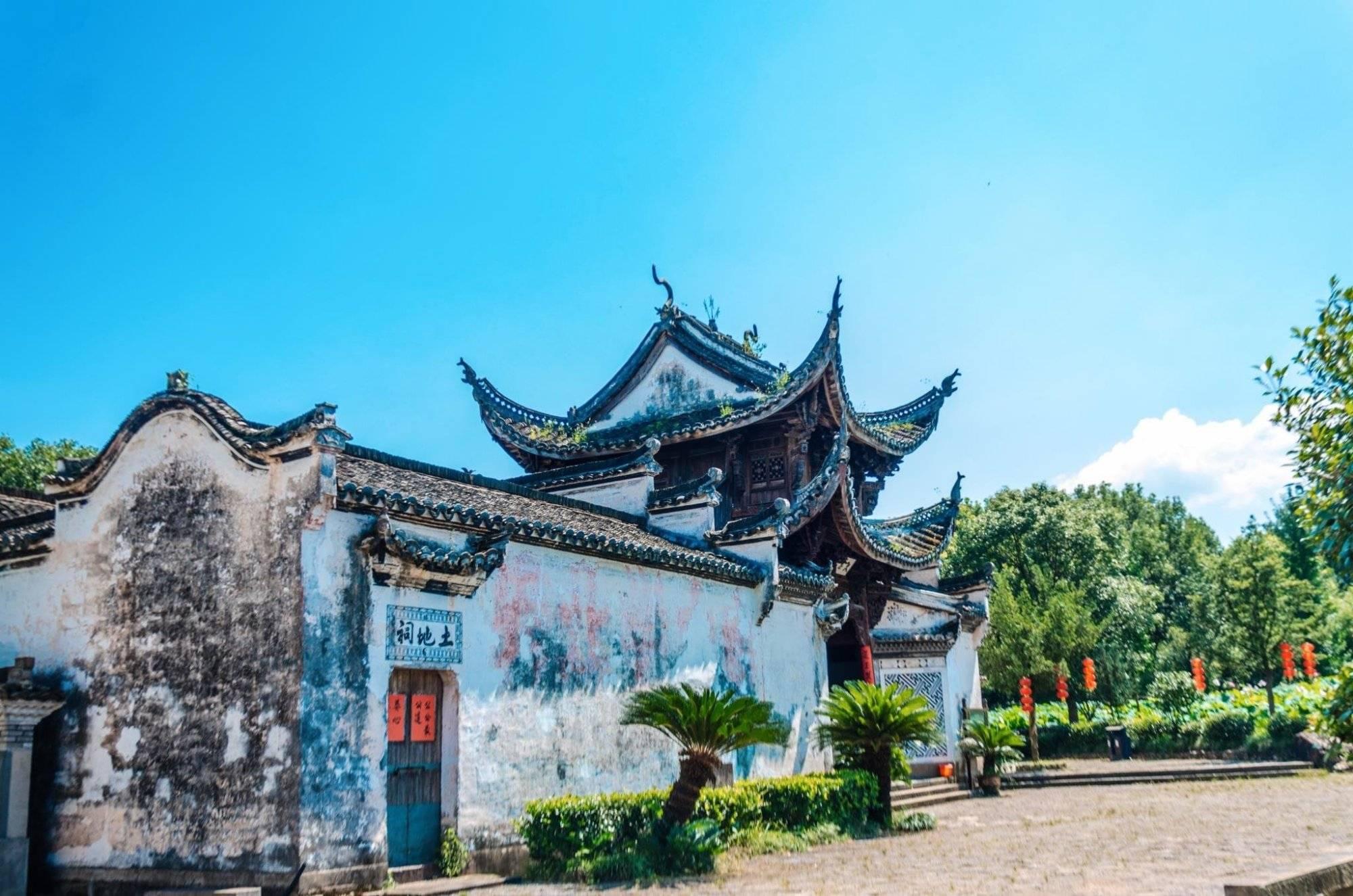 原创             曾经游人如织的古村,如今恢复了往日的安静,就在浙江建德