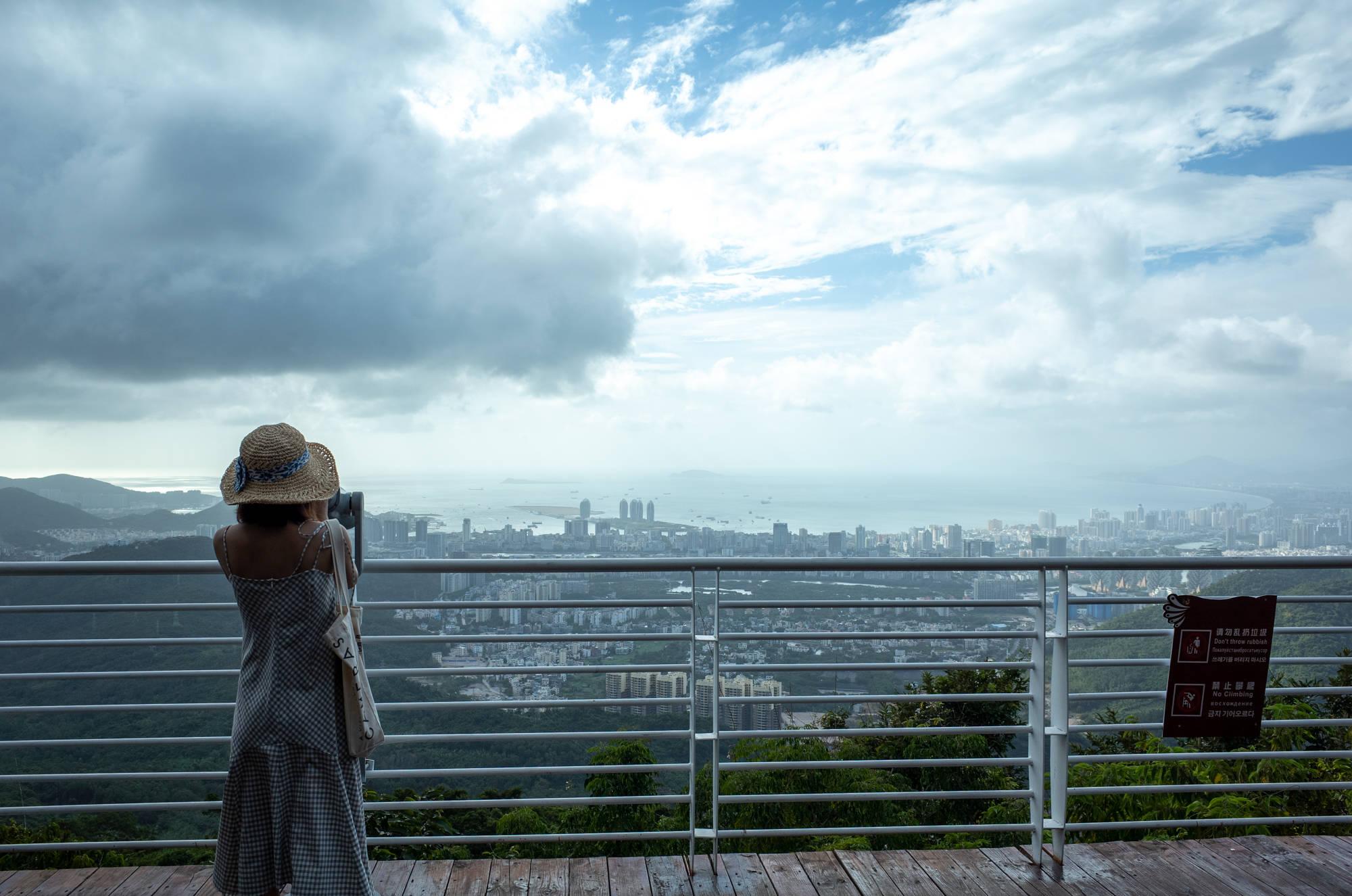 原创             三亚常被忽略的旅游景点,俯瞰三亚全景的绝佳处,情侣必打卡