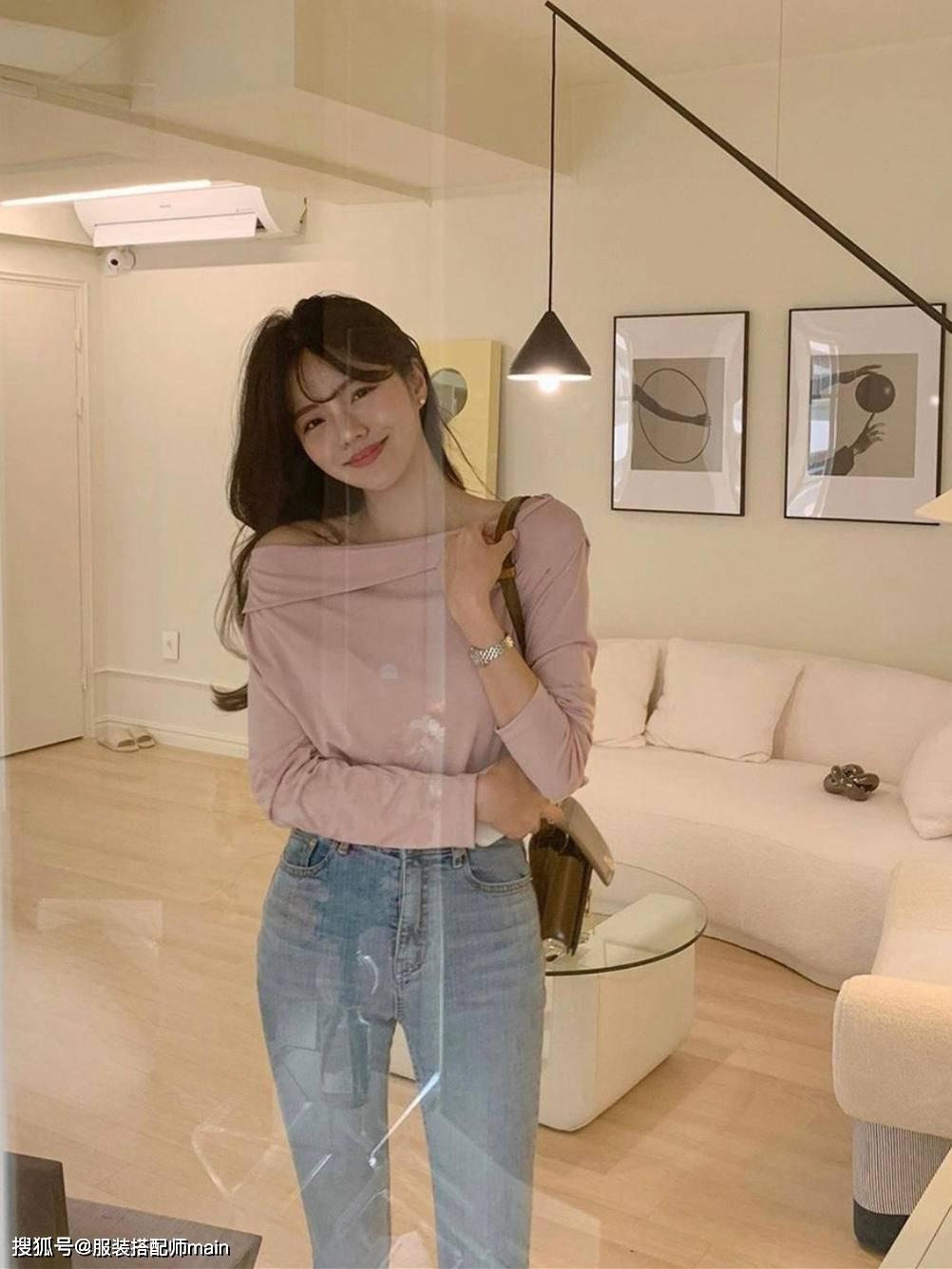 早春穿搭不必犯难,看韩国小姐姐的示范,简单时髦显气质